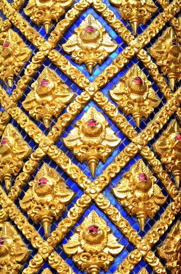 Висок окна тайский стоковые изображения rf