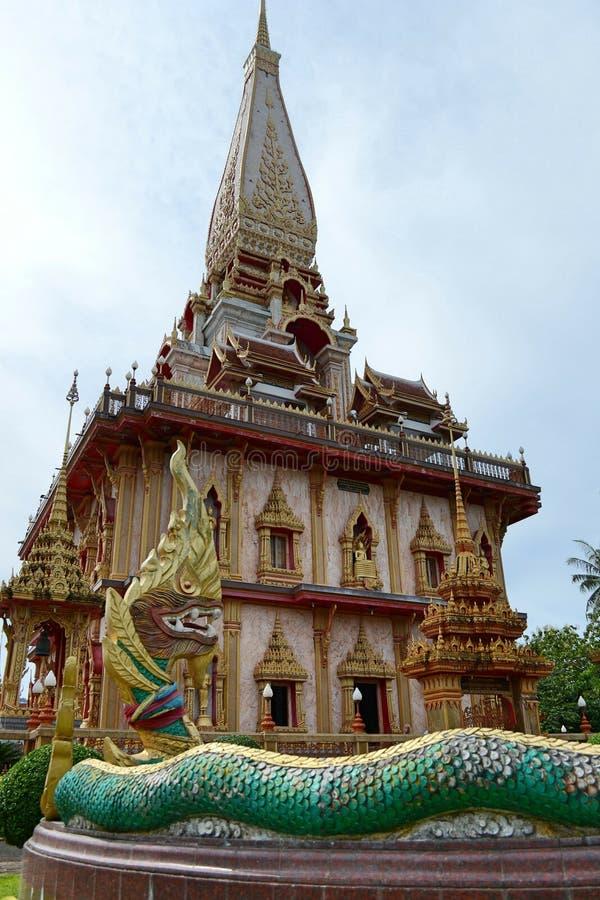 Download Висок Пхукет Chalong, Таиланд Стоковое Фото - изображение насчитывающей скит, friary: 33734852