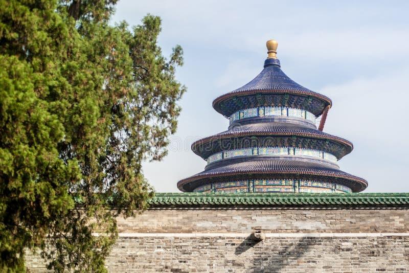 висок рая Пекин стоковое фото