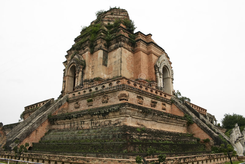 висок руин Таиланд mai chiang стоковые изображения rf
