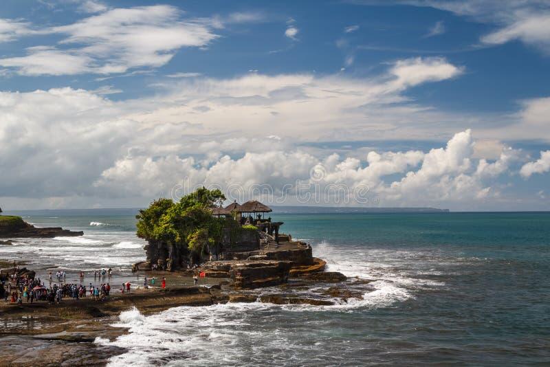 Висок серии Pura Tanah на острове Бали стоковые изображения rf