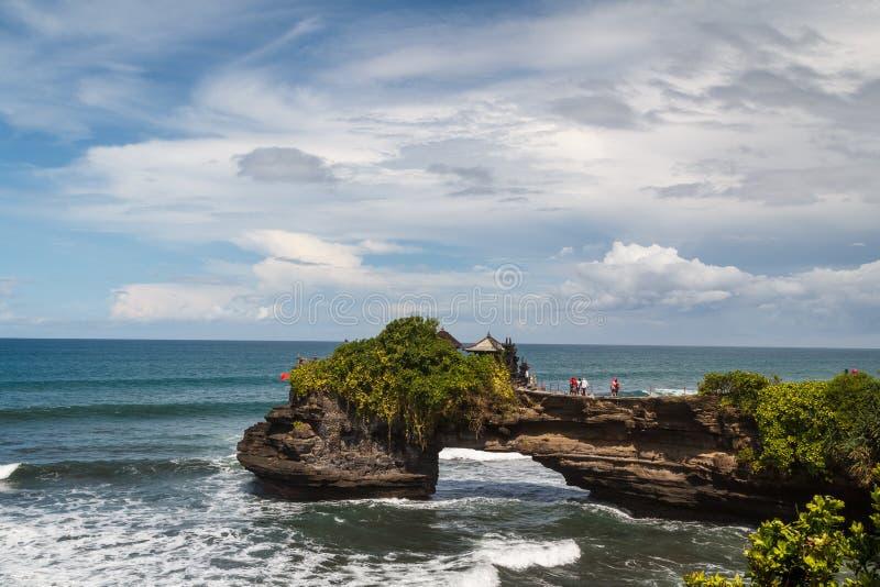 Висок серии Pura Tanah на острове Бали стоковое изображение rf