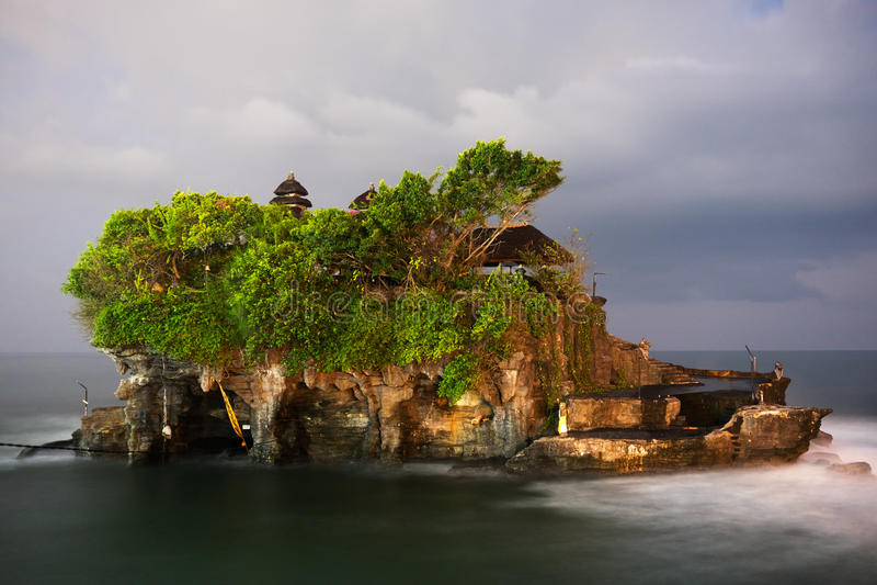Висок серии Pura Tanah, остров Бали стоковая фотография