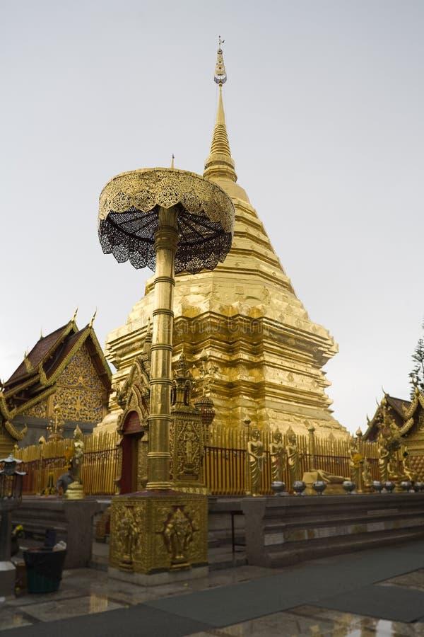 висок Таиланд suthep mai doi chiang стоковое фото rf