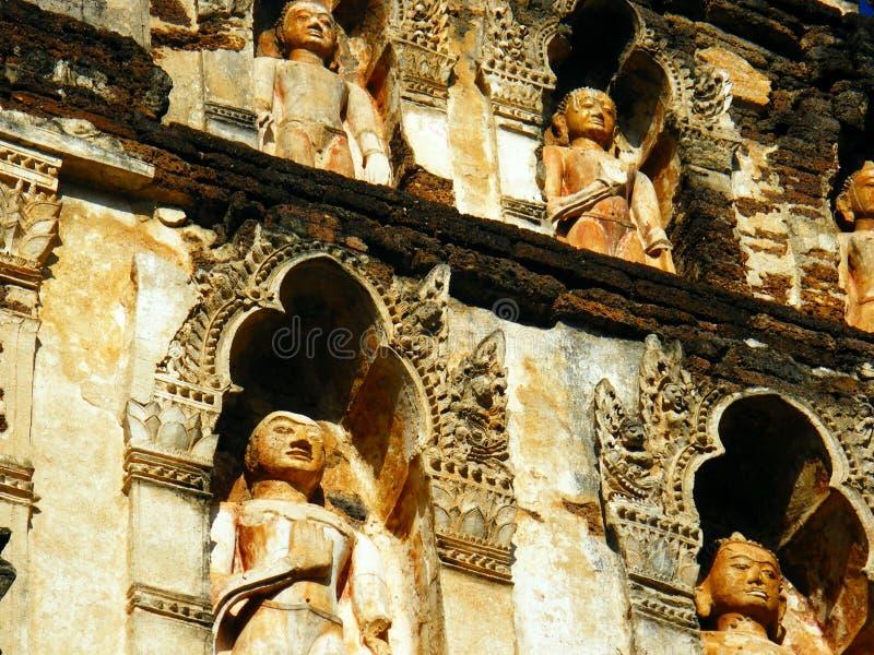 висок Таиланд стоковое фото