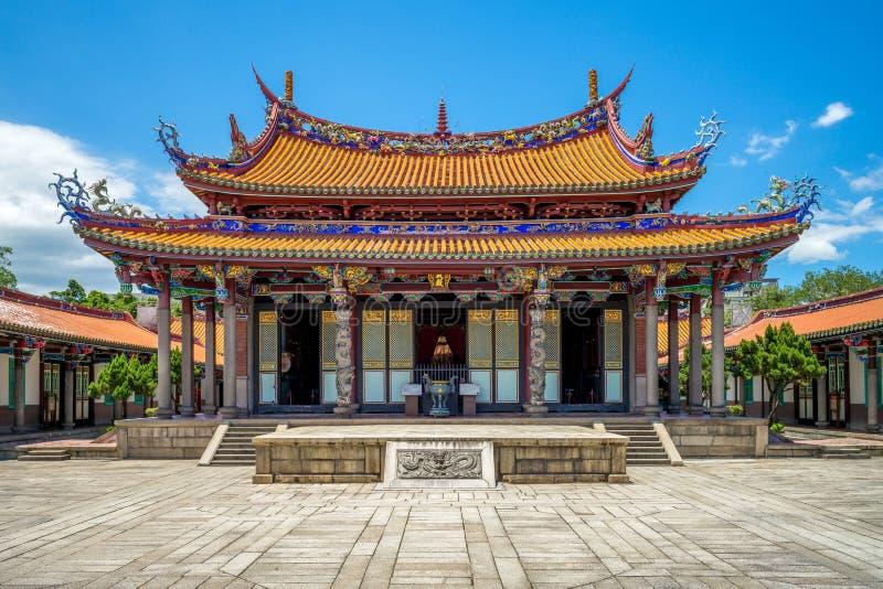 Висок Тайбэя Конфуция в dalongdong, Тайбэе стоковые фотографии rf