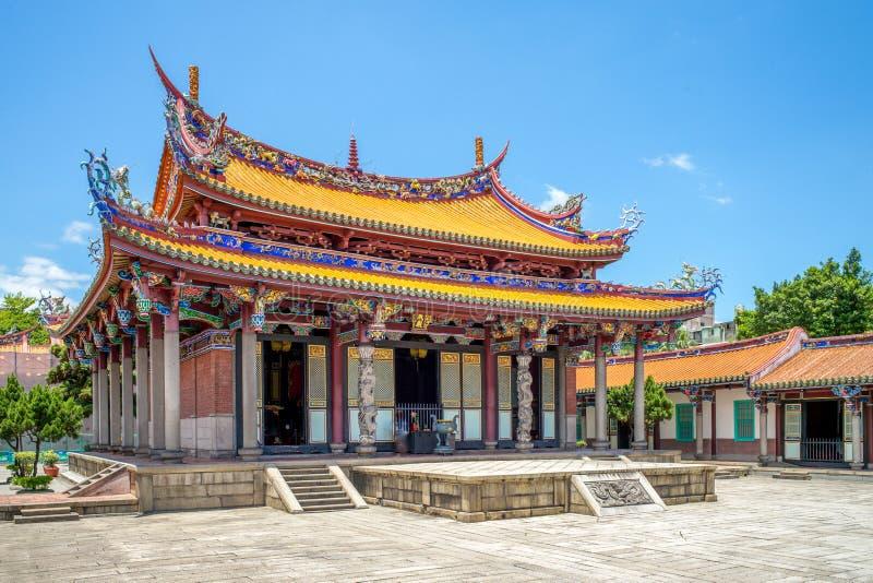 Висок Тайбэя Конфуция в dalongdong, Тайбэе стоковое фото rf