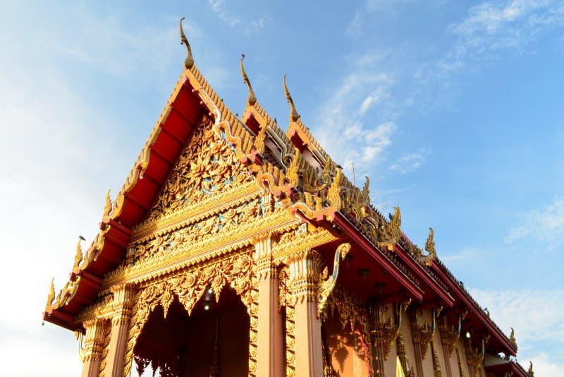 висок тайский стоковая фотография