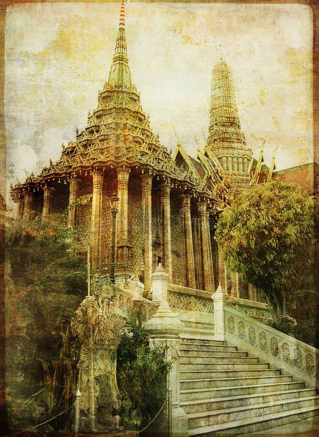 висок тайский стоковое фото