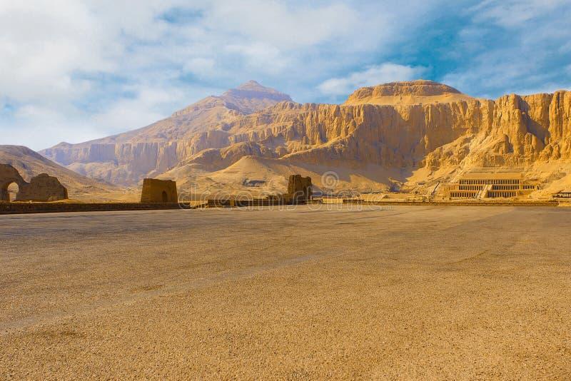 Висок ферзя Hatshepsut стоковые изображения rf