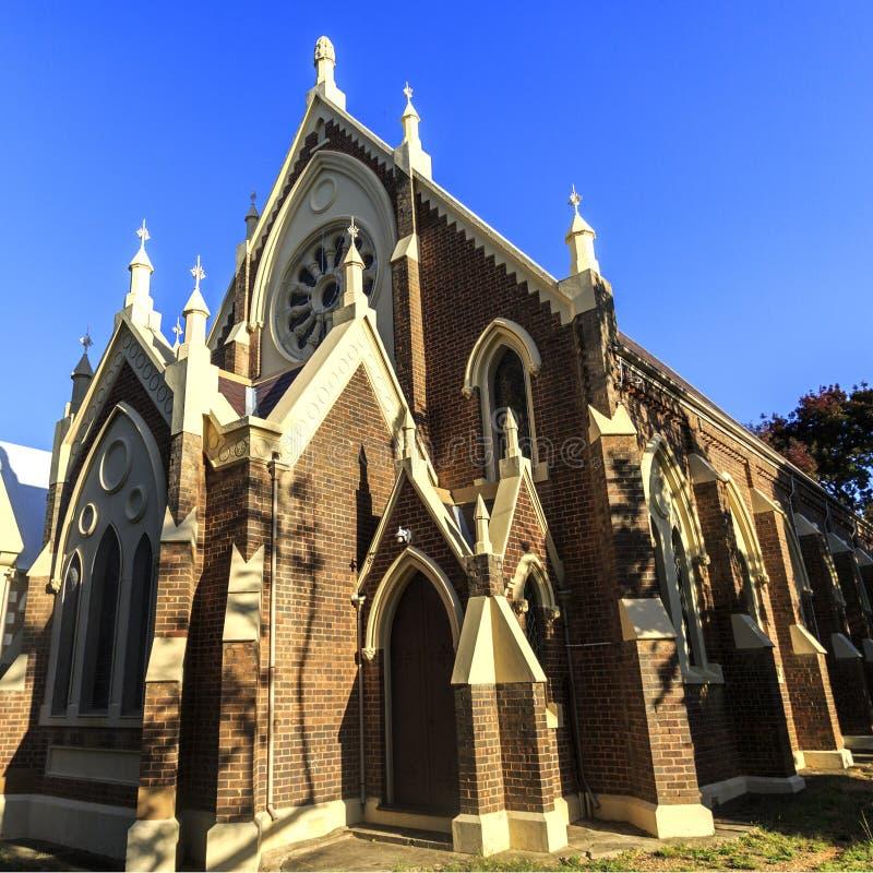 Висок церков Armidale соединяя присутствующий стоковые изображения rf