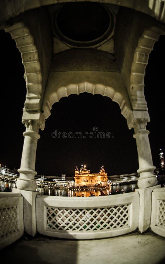 висок amritsar золотистый стоковые фотографии rf