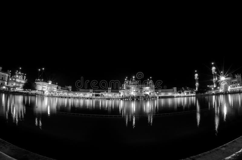 висок amritsar золотистый стоковая фотография rf