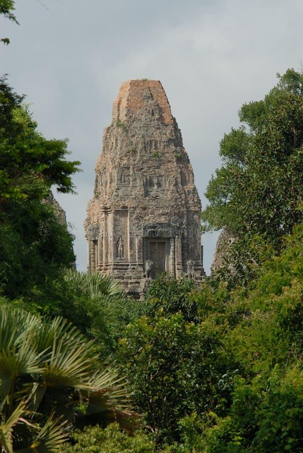 висок angkor стоковое изображение rf