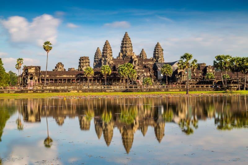 Висок Angkor Wat стоковые фотографии rf