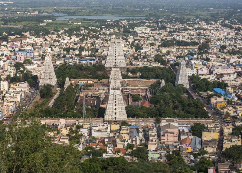Висок Annamalaiyar в Thiruvannamalai стоковые изображения