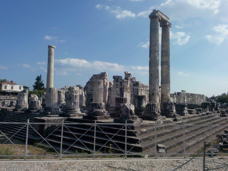 Висок Apollon стоковое изображение