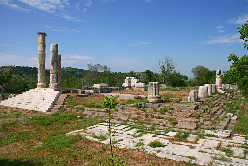 Висок Apollon Smintheus стоковое изображение