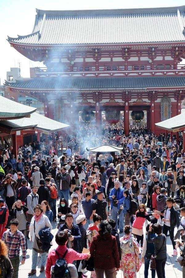 Висок Asakusa Kannon стоковые изображения rf