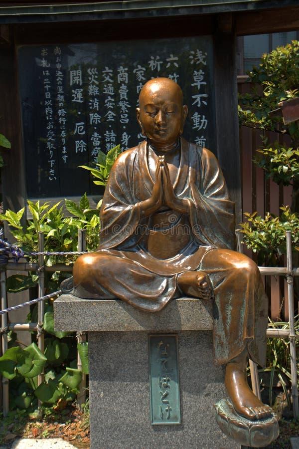 Висок Asakusa Senso буддийский, токио, Япония стоковое изображение rf