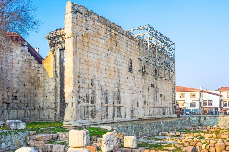 Висок Augustus и Рима стоковое изображение rf
