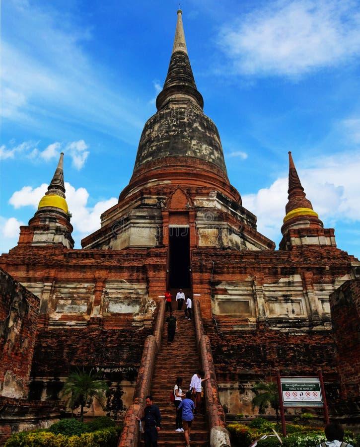 Висок Ayutthaya кхмера стоковое изображение