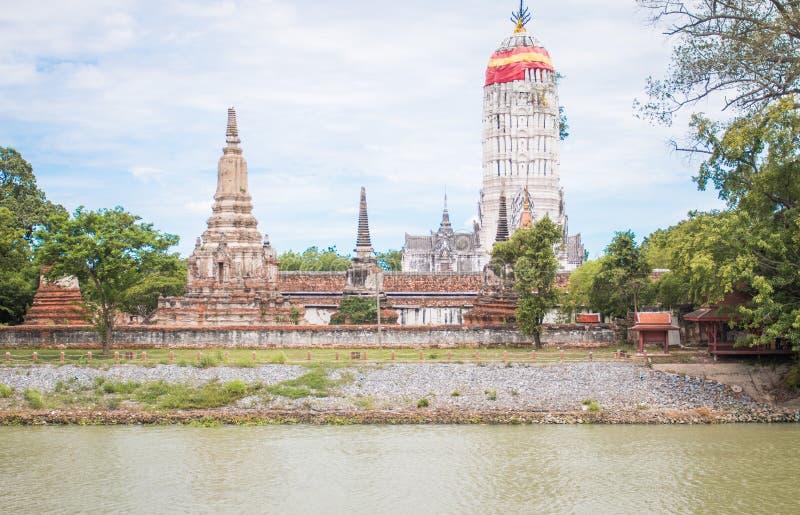 Висок Ayutthaya стоковая фотография rf