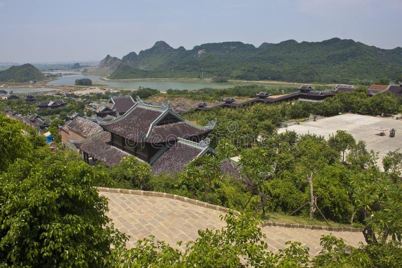 Висок Bai Dinh стоковые изображения
