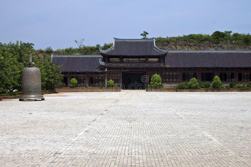 Висок Bai Dinh стоковое изображение rf