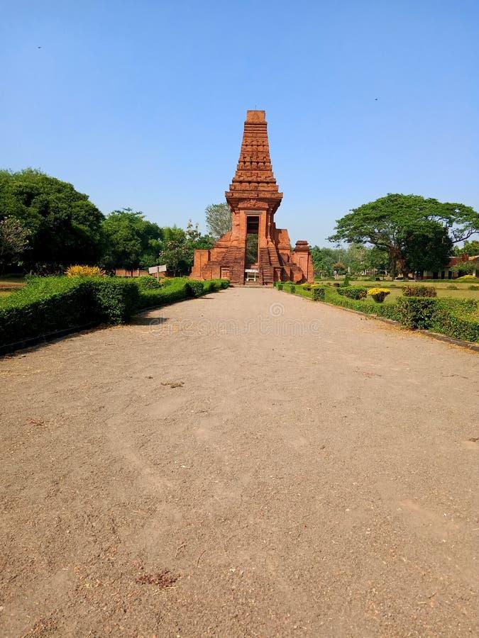 Висок Bajang Ratu унаследовал от королевства Majapahit стоковые изображения