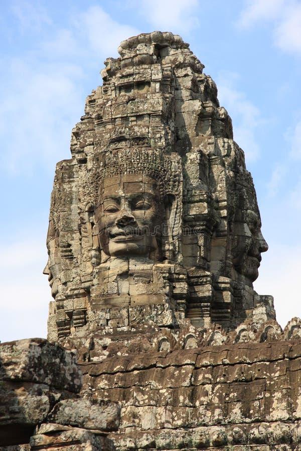 висок bayon angkor стоковые фото
