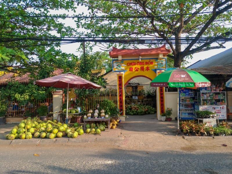 Висок Bon Ong стоковое фото