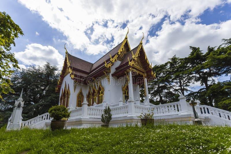 Висок Buddhapadipa буддийский стоковые изображения