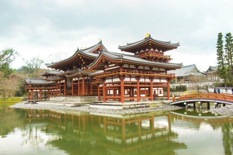 Висок Byodoin, Uji, Япония стоковое изображение rf