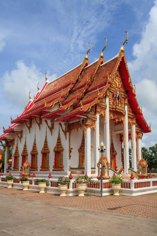 Висок Chalong, Пхукет, Таиланд, wat стоковое фото rf