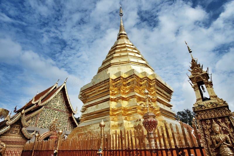 Висок chiangmai стоковые фотографии rf