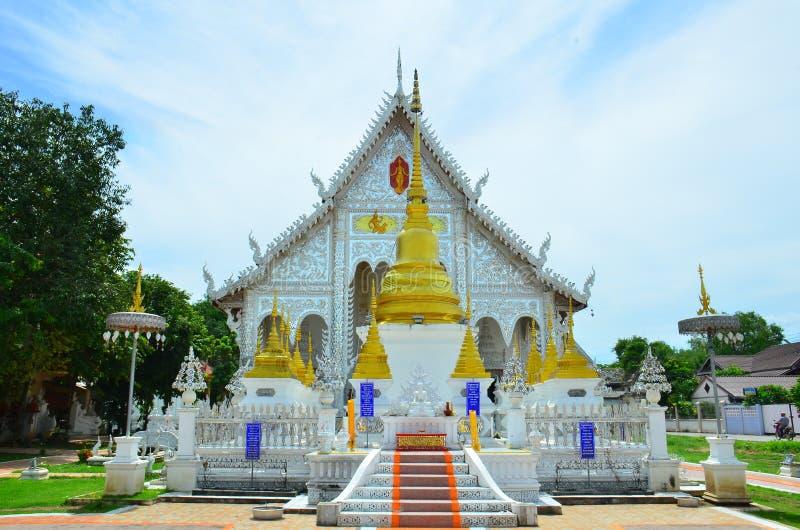 Висок Chiangrai на Lampang, Таиланде стоковые фото