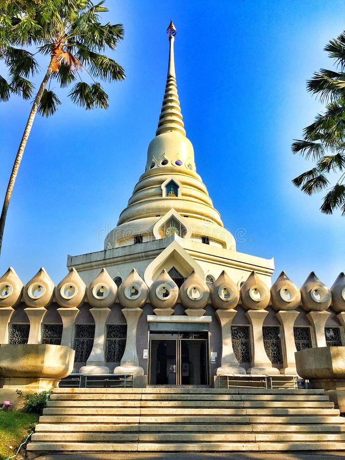 Висок chonburi Таиланда стоковые фото
