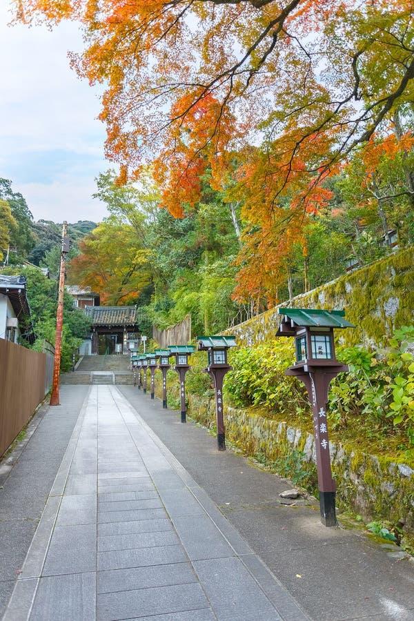 Висок Chorakuji в Киото стоковые изображения rf