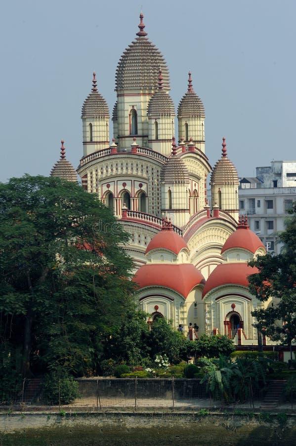 Висок Dakshineswar Kali, Kolkata, Индия стоковое фото rf