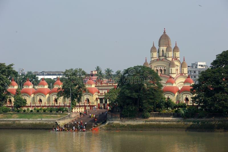 Висок Dakshineswar Kali, Kolkata, Индия стоковые фото