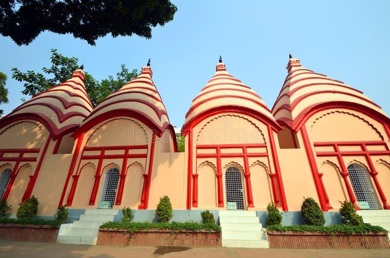 Висок Dhakeshwari стоковое изображение rf