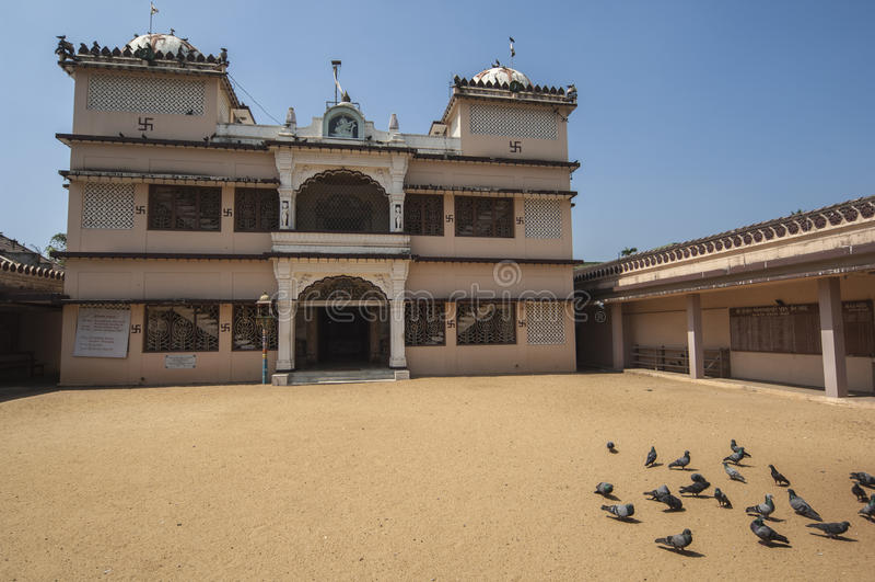Висок Dharmanath Jain в Cochin, стоковое фото rf