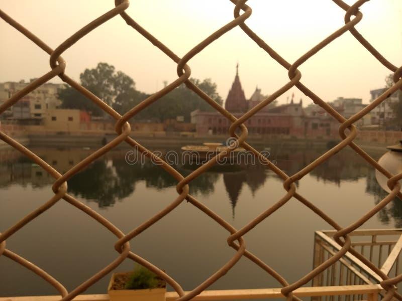 Висок Durgakund, Варанаси стоковое изображение