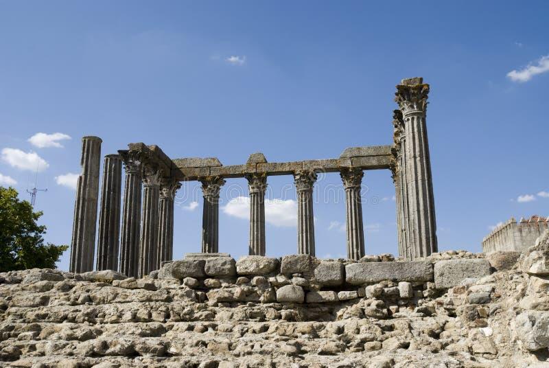 висок evora Португалии римский стоковые фото