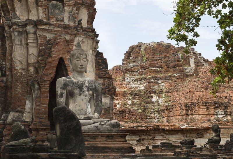 Висок i Wat Mahathat стоковое изображение rf