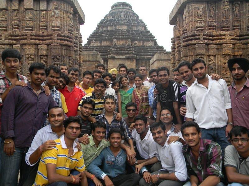 Висок Jagannathpuri на Bhubhaneshwar, Индии стоковые изображения