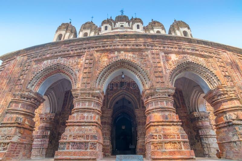 Висок Kalna, западная Бенгалия Krishna Chandra, Индия стоковое изображение rf