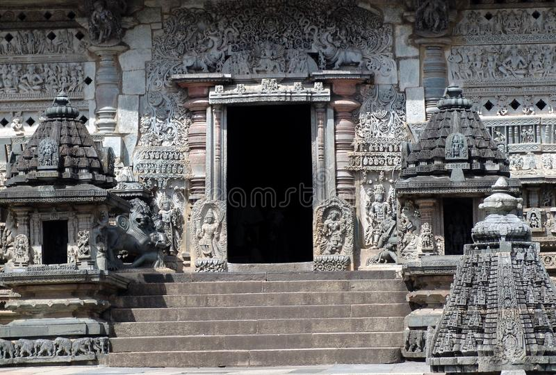 висок karnataka Индии belur стоковые изображения