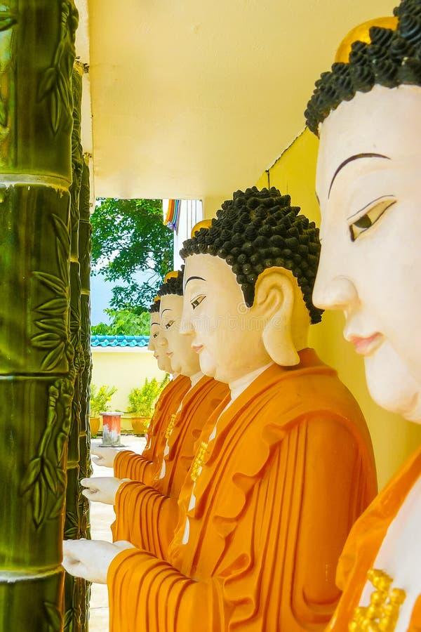 Висок Kek Lok Si Китая в конце Penang городка Джордж до buddh стоковые изображения rf